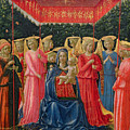 The Virgin And Child With Angels by Fra Angelico