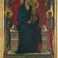 The Virgin And Child With Four Angels by PixBreak Art