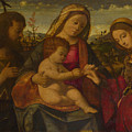 The Virgin And Child With Saints by PixBreak Art