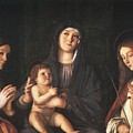 The Virgin And Child With Two Saints Prado Giovanni Bellini by Eloisa Mannion