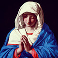The Virgin In Prayer by Il Sassoferrato