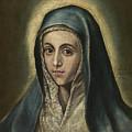 The Virgin Mary by El Greco