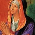 The Virgin Mary In Prayer by Durer Albrecht