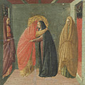 The Visitation by Borghese Di Piero Borghese