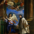 The Vocation Of Saint Aloysius Gonzaga by Guercino