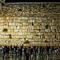 The Wailing Wall - Jerusalem  by Ben Burton