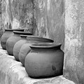 The Wall Of Pots by Sandra Bronstein