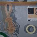 The Multi Lit Wall by Rosanne Bartlett