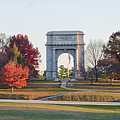The Washington Memorial At Valley Forge Panorama by Bill Cannon