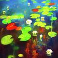 The Water Lily Pond by Georgiana Romanovna