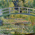 The Waterlily Pond With The Japanese Bridge by Claude Monet