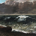 The Wave 1869 1 by Gustave Courbet