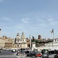 The Way To Piazza Venezia by Munir Alawi
