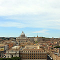 The Way To St. Peter's Basilica by Munir Alawi