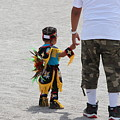 The Ways Of My Father Colorful Photograph Of Paiute Pow Wow by Colleen Cornelius