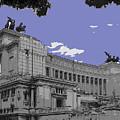 The Wedding Cake In Rome by Al Bourassa