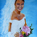 the wedding day of my daughter Daniela by Helmut Rottler