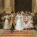 The Wedding by Frederik Hendrik Kaemmerer