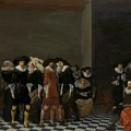 The Wedding Party by Duyster Willem Cornelisz