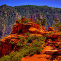 The Wedding Rock In Sedona by David Patterson