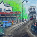 The West End Carryout At The Bridge by Frank Hunter