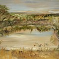 The Westfern Pond by Edward Wolverton