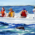 The Whale Watchers by Anne Trotter Hodge