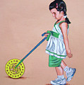 The Wheel - La Rueda by Rezzan Erguvan-Onal