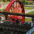 The Wheel Park, Laxey, Isle Of Man by Courtney Dagan