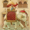 The White Elephant 01 by Kestutis Kasparavicius