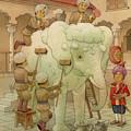 The White Elephant 02 by Kestutis Kasparavicius