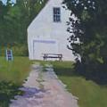The White Garage - Art By Bill Tomsa by Bill Tomsa