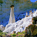 The White Hoodoos by Frank Houck