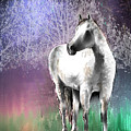 The White Horse by Arline Wagner