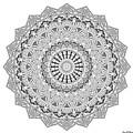 The White Mandala No. 3 by Joy McKenzie