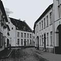 The White Village - Digital by Carol Groenen