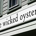 The Wicked Oyster Wellfleet Cape Cod Massachusetts by Michelle Constantine