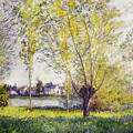 The Willows by Claude Monet
