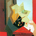 The Window Of The Painter  by Juan Gris