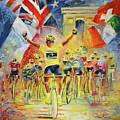 The Winner Of The Tour De France by Miki De Goodaboom