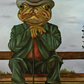The Wise Toad by Leah Saulnier The Painting Maniac