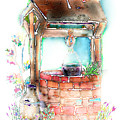The Wishing Well by Arline Wagner