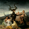 The Witches' Sabbath by Goya