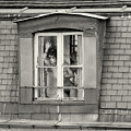 The Woman At The Window by Philippe Taka