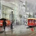 The Woman In The Rain by Eduardo Tavares