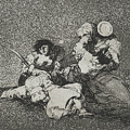 The Women Give Courage From The Series The Disasters Of War by Francisco Goya
