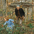 The Wood Gatherer by Jules Bastien-Lepage