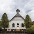 The Woodrow Union Church In Paw Paw West Virginia by Mountain Dreams