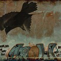 The Word Crow by Gothicrow Images
