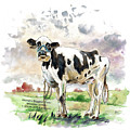 The Worlds Biggest Cow by Miki De Goodaboom